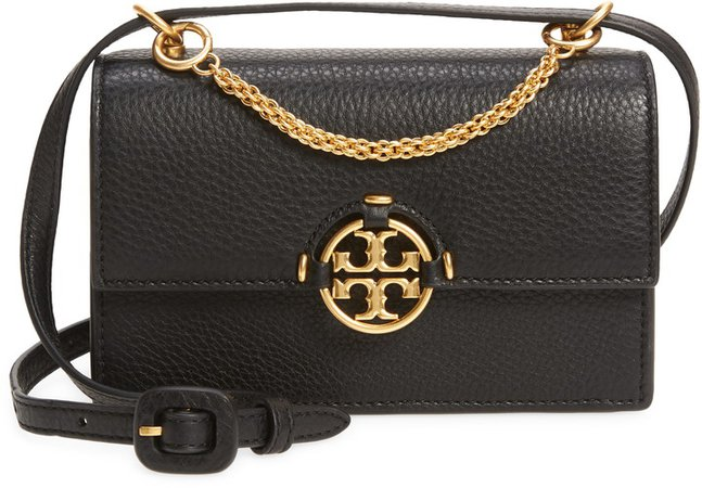 Miller Mini Leather Crossbody Bag