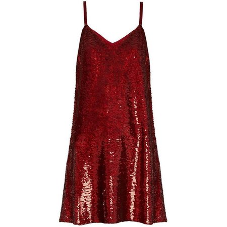 Ashish V-Neck Sequin-Embellished Mini Dress