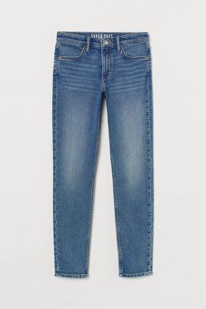 Super Soft Skinny Fit Jeans - Blue