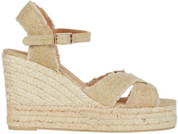 Bromelia Espadrille Wedge Sandals