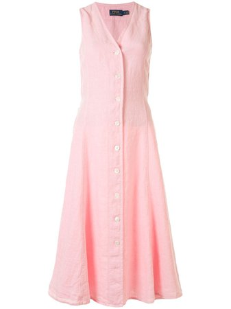 Polo Ralph Lauren Sleeveless Shirt Dress - Farfetch