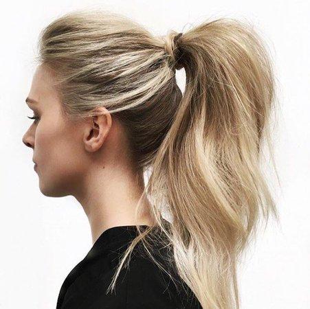 Chloé high ponytail