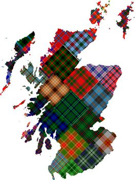 Scottish District Tartans | ScotClans | Scottish Clans