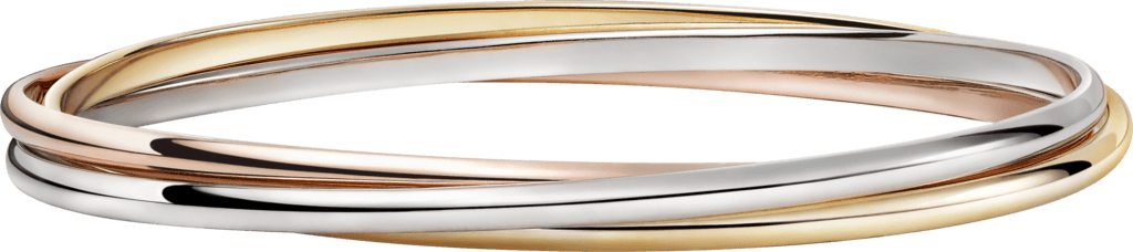 CRB6050217 - Trinity bracelet - White gold, pink gold, yellow gold - Cartier