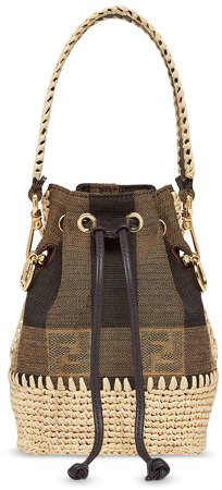 mini Mon Tresor bucket bag