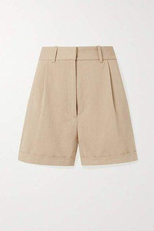 Napa Twill Shorts - Beige