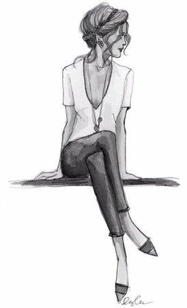45 best Fashion Illustration images on Pinterest in 2018 | Fashion artwork, Fashion drawings and Fashion illustrations