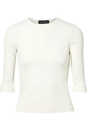 Goldsign   The Rib stretch cotton-blend jersey top   NET-A-PORTER.COM