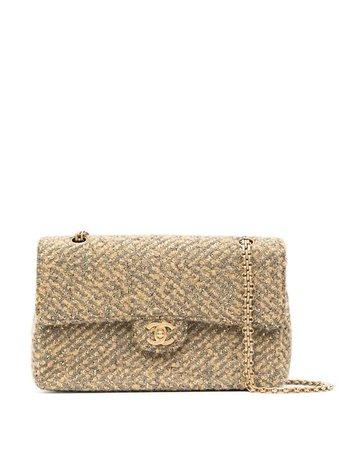 Bolsa de hombro Classic Flap mediano 2001 Chanel Pre-Owned - Compra online - Envío express, devolución gratuita y pago seguro