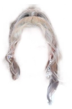 silver/gray high ponytail - cloud9