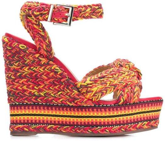 braided wedges