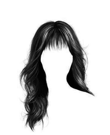 black nags hair edit png