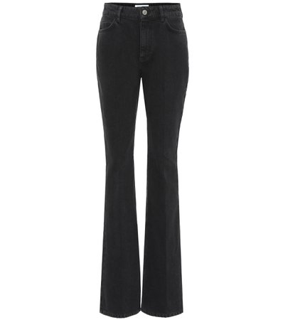 The Attico, High-rise flared jeans