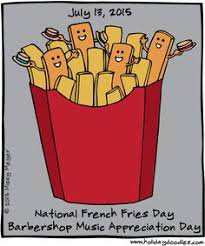 national french fry day - Google Search