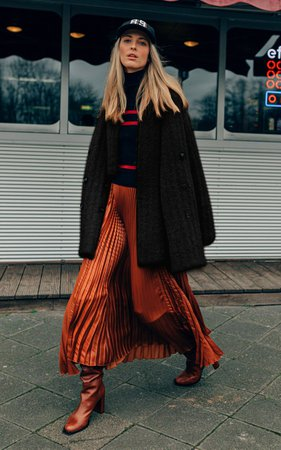 Pleated Wool-Blend Turtleneck Dress By Dorothee Schumacher | Moda Operandi