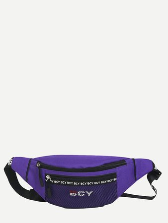 Purple Waistbag