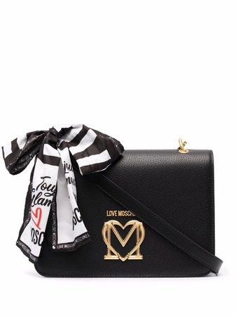 Love Moschino logo-plaque Tote Bag - Farfetch