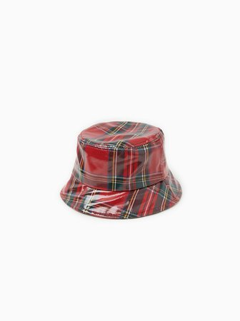 CHECK RAIN HAT - View all-GIRL-ACCESSORIES-KIDS | ZARA United Kingdom
