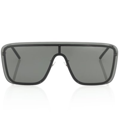 Sl 364 Mask Flat-Brow Sunglasses   Saint Laurent - Mytheresa