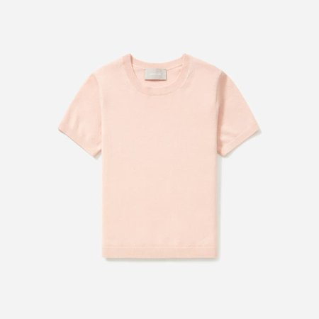 Women's Cashmere Tee | Everlane peach