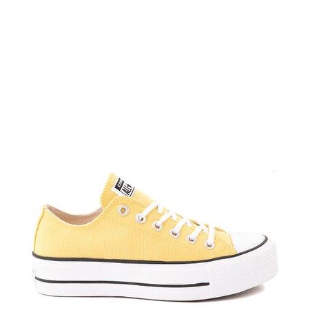 yellow converse women