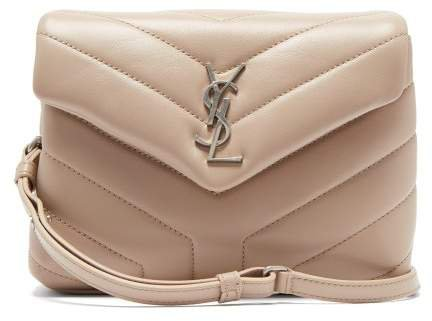 Loulou Small Quilted Leather Cross Body Bag - Womens - Beige