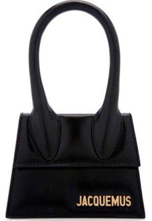 jacquemus black mini bag