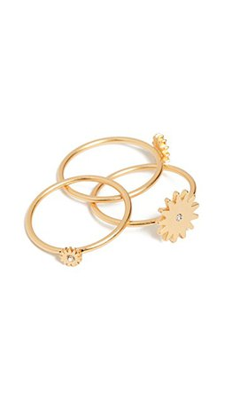 Madewell Sun Stacking Rings   SHOPBOP