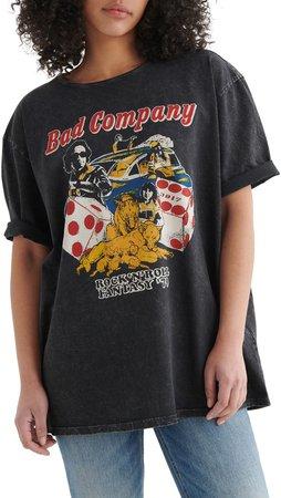 Bad Company Oversized Graphic Tee