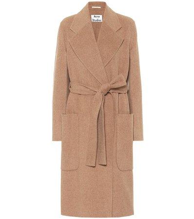 Belted Wool Coat   Acne Studios - Mytheresa