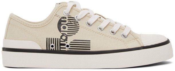 Beige Binkoo Low-Top Sneakers