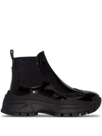 Prada Chelsea 75mm Ankle Boots - Farfetch