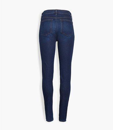 Petite Skinny Jeans in Classic Dark Indigo Wash | LOFT