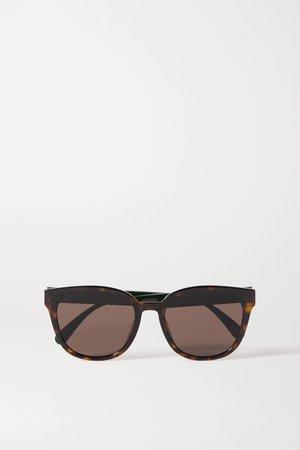 Tortoiseshell Round-frame acetate sunglasses | Gucci | NET-A-PORTER