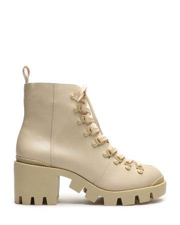 Schutz Xayane Leather Hiker Boots