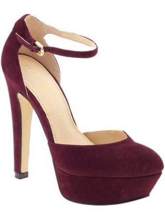dark maroon heels - Google Search