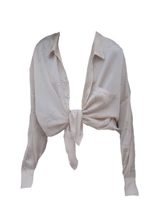 silk line shirt