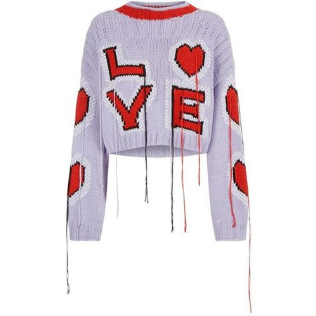 Philosophy Di Lorenzo Serafini Cropped Love Sweater