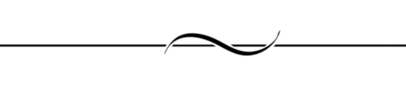 Line Curve Black Divider transparent PNG - StickPNG
