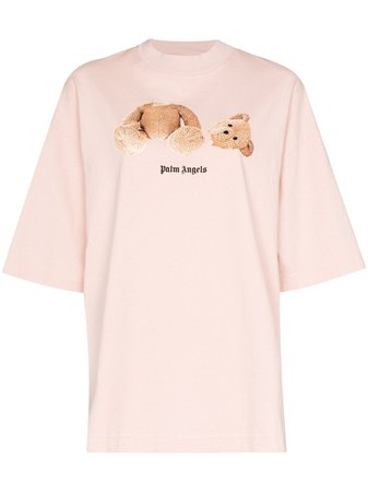 Palm Angels Bear Print T-Shirt
