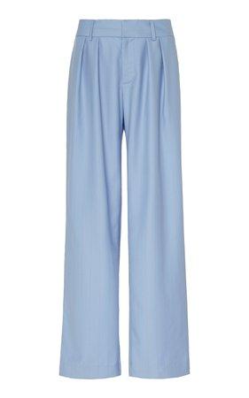 Bobbi Boyfriend Pinstripe Wool Trousers by Maggie Marilyn | Moda Operandi