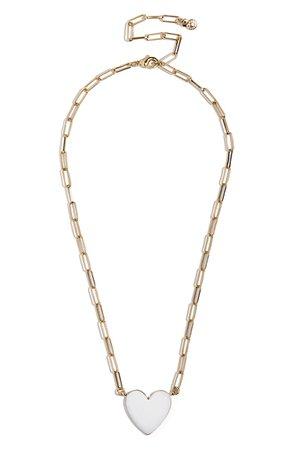 BaubleBar Heart Pendant Necklace | Nordstrom