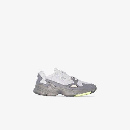 grey Falcon low top sneakers