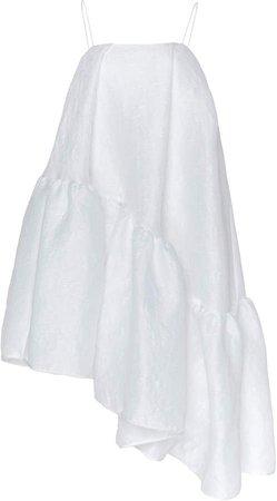 Cecilie Bahnsen Ella Ruffle-Trimmed Scuba Dress