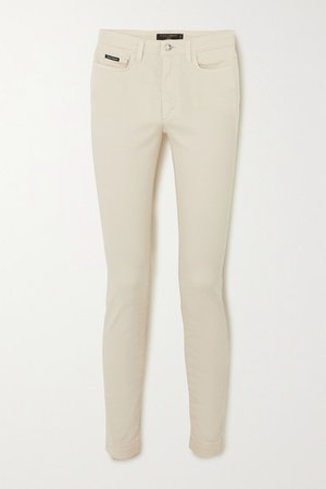 High-rise Skinny Jeans - White