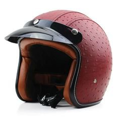 Retro Ladies Motorcycle Helmet