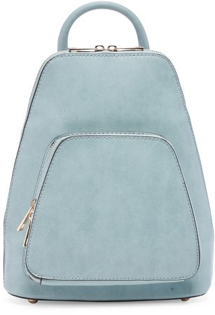 Aushan Faux Leather Backpack
