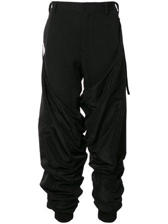Yohji Yamamoto B/Ny Cover Cargo Trousers - Farfetch