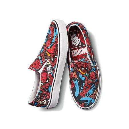 Vans x Marvel Spiderman Slip-on - Spiderman | Boarders
