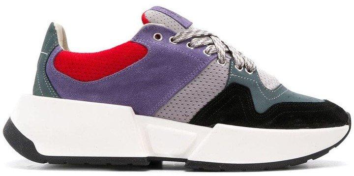 Colourblock Chunky Sneakers
